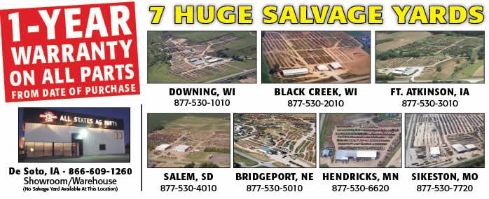 Salvage Yard Locations