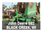 Used John Deere 582 baler parts