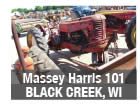 Used Massey Harris tractor parts