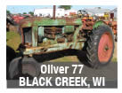 Used Oliver tractor parts