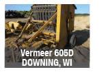Used Vermeer 605D round baler parts