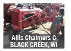 Allis Chalmers C parts