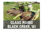 Claas header parts
